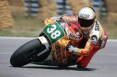 #38DaysUntilQatar Michel Simeon on his Honda at Spa, #250cc 1984 Belgian Grand Prix © Manfred Mothes