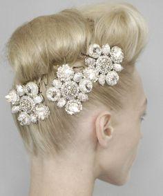 #chanel #bridal headpiece  #wedding