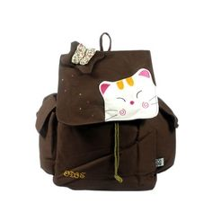 [Cat & Butterfly] 100% Cotton Fabric Art School Backpack / Outdoor Backpack by Blancho Bedding. $31.99. Made of high quality durable canvas.. Machine washable and easy to clean.. Easy to open/close. Soft and comfortable to carry.. Very practical. A perfect gift for fashion girl.. The multi purpose bag features a colorful artistic design with lovely characters and patterns.. Aesthetics and Functionality Combined. This cute fabric art School Backpack / Outdoor Backpack features ...