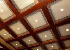 Billiard Room Ceiling, Windermere, Florida by Jeff Huckaby