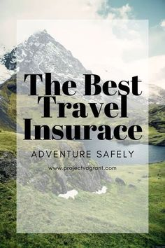 Best Travel Insurance for Vacation or Long Term Travel - Project Vagrant All travel is an adventure, but some destinations offer more adventure than others. Get out there and savor the adventure at whatever level you choose. Tips And Tricks, Travel Guides, Travel Tips, Travel Hacks, Travel Destinations, Travel Packing, Travel Backpack, Budget Travel, Travel Photos