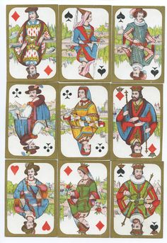 Daveluy 1870 playing cards   eBay