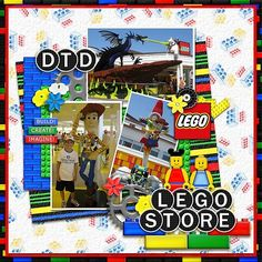 lego scrapbook page ideas   Found on mousescrappers.com