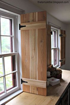 home design categories. best indoor shutters for windows. innovative interior shutters for every and any room of the house Diy Interior Shutters, Diy Shutters, Interior Windows, Interior Door, Cedar Shutters, Furniture Plans, Plywood Furniture, Modern Furniture, Furniture Design