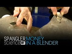 ▶ Money in a Blender - Cool Science Experiment - YouTube