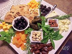 Mediterranean Food #fooddecoration, #food, #cooking, https://facebook.com/apps/application.php?id=106186096099420