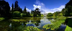 The stunning Triton lake welcomes visitors as they visit Powerscourt Estate in County Wicklow. |Discover Ireland's Manor House's| Jump Into Ireland