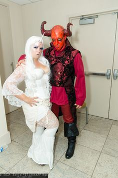 The Last Unicorn and The Red Bull #cosplay | Dragon Con 2014 - Sunday #DTJAAAAM