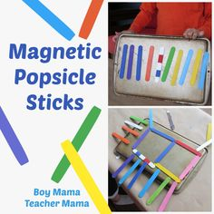 Magnet Popsicle Sticks
