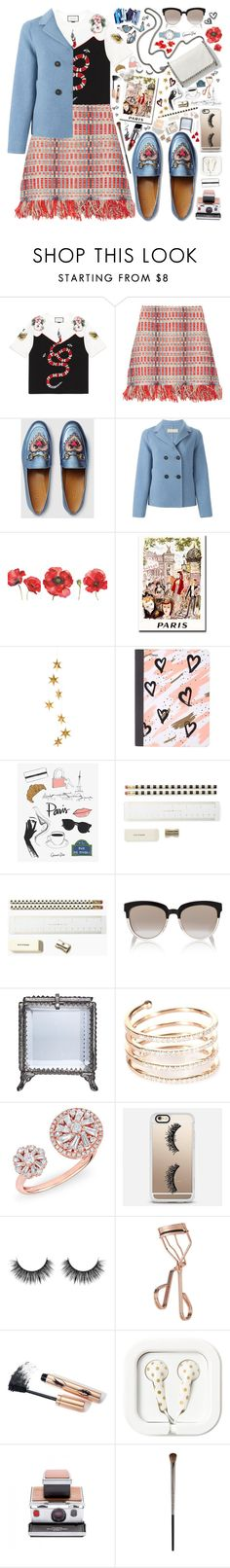 """""""Begin Again"""" by beautifully-eclectic ❤ liked on Polyvore featuring Gucci, Tory Burch, STELLA McCARTNEY, Massimo Alba, WALL, Livingly, Mead, Kate Spade, Christian Dior and Home Decorators Collection"""