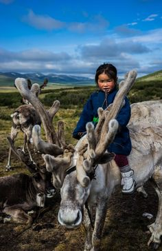 She has been riding since she was 1. She was 3 when this shot was taken. #Amazing #Mongolia #lp #travel