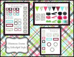 Classroom Couture-Classroom themes