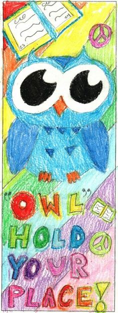 2016 Student Bookmark Design from Valley Crest Elementary