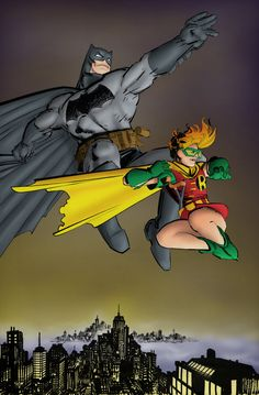 This image is from The Dark Knight Returns by Frank Miller.