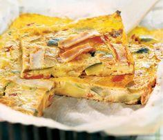 La quiche sans pâte à la ratatouille | Weight Watchers