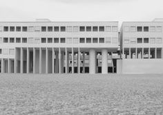 Gallaratese by Aldo Rossi / photo by ETH Caruso neo-rationalism Architecture 101, Architecture Drawings, Contemporary Architecture, Louis Kahn, Andrea Palladio, Carlo Scarpa, Claude Monet, Miroslav Sik, Frank Gehry