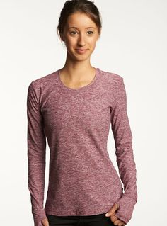 Lux Layer is the ultimate running base layer. New rich hue: begonia. I want it!