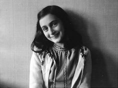 """23. Anne Frank, Author And One of The Most Renowned Jewish Victims of The Holocaust    """"We all live with the objective of being happy; our lives are all different and yet the same."""""""