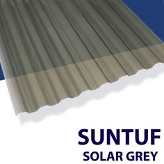 SUNTUF® corrugated polycarbonate sheets offer high light transmission, incredible impact strength, and holds up to hot or cold climates anywhere in the country. It's lightweight, and easy to install, plus it provides better UV-A and UV-B protection than any sunscreen! Professionals favor SUNTUF for noncorrosive industrial structural roofing and siding, while homeowners favored SUNTUF for a multitude of DIY projects, such as: >Patio, deck & pergola coverings