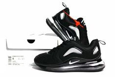 huge selection of 916e2 be17b 2019 Nike Air Max 720 Max720 Men Shoes Black And White 40-46-19358892