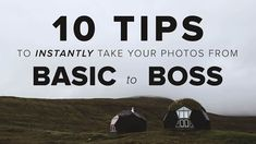 10 Tips to INSTANTLY Take Your Photos from BASIC to BOSS   What are the differences between amateurs and professionals photographers?Mango Street compiled a list of 10 things you can do to take your photos to the next level.  Mind Your Horizons  Nail Your Focus  Don't Cut Off Your Subject's Limbs at the Joints  Good Composition  Don't Over- or Under-Edit  Don't Shoot in Tungsten Light  Use Light Correctly  Shoot With Purpose  Keep Your Subjects Natural  Don't Try to Recreate Someone Else's…