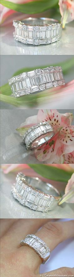 High-end Diamond Ring, 2,20 cts. G-VVSI WG18K - Visit: schmucktraeume.com - Like: https://www.facebook.com/pages/Noble-Juwelen/150871984924926 - Mail: info@schmucktraeume.com
