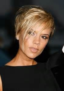 ... longer hair on top and front for a side fringe in blonde hair color