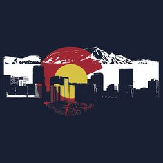 Colorado (found this, and it is just kinda cool..I'll stop hatin on your flag now..)
