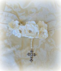 Personalized Ivory Wedding Laso Custom Made Lazo de Wedding Lasso, Ivory Wedding, Wedding Engagement, Wedding Crafts, Wedding Ideas, Custom Dresses, Groom Dress, Flower Making, Unique Weddings