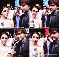 We're fans of our fans Bash And Mary, Torrance Coombs, New Television, Cw Series, Mary Queen Of Scots, Lady In Waiting, You Are Cute, Adelaide Kane, Nerd Love