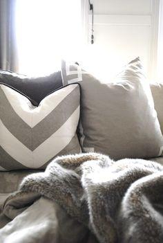 Greige Deco Pillow