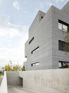 Housing Stuttgart. Bottega + Erhardt arch.. EQUITONE facade materials. www.equitone.com