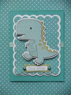 Cricut Crazy Scrapper: Create A Critter Boy Cards, Kids Cards, Cute Cards, Scrapbooking, Scrapbook Cards, Dinosaur Cards, Create A Critter, Baby Shower Invitaciones, Dinosaurs
