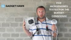 Five Microphones Tested The Gadget Hawk New Gadgets, I Can, Budgeting, Youtube, Audio, Fine Art, Budget, Visual Arts