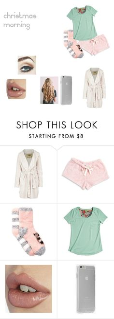 """""""Christmas Morning"""" by amo-te-tam-multo ❤ liked on Polyvore featuring UGG Australia, Roudelain, Free Press, Vera Bradley and Case-Mate"""