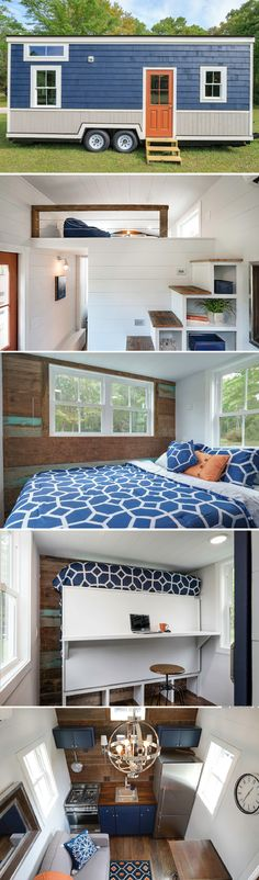 The Indigo tiny house from Driftwood Homes