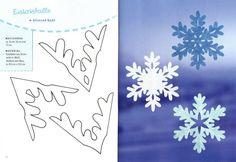 hópehely papírból - Google keresés