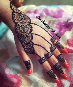 Tattoos are an integral part of society, with many people sporting one or more tattoos on their body, it is certain that these tattoos can be significant for many people and cultures from around th… Mehndi Designs For Girls, Stylish Mehndi Designs, Mehndi Designs For Beginners, Mehndi Design Pictures, Mehndi Designs For Fingers, Beautiful Mehndi Design, Latest Mehndi Designs, Henna Tattoo Designs, Mehndi Images