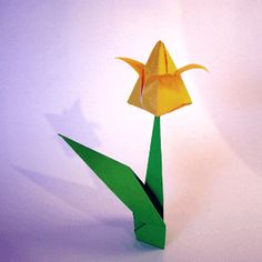 15 best origami images on pinterest origami paper oragami and origami origami tulip mightylinksfo
