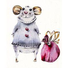 Мышка Сем, почему-то я его так назвала) #aquarelle #акварель #акварельнаятехника #watercolor #watercolours #иллюстрациядлядетей #иллюстрация #illustration #childrenillustration #kidsbook #kidsillustration #painting #drawing #рисование #рисуюкаждыйдень #рисуюназаказ #мышь#мышка#mouse#gifts#обоидлястен #арт_пинок #art_we_inspire #topcreator