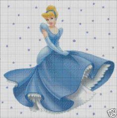 Free+Disney+Cross+Stitch+Patterns | thesassystitch : Disney Princess Cinderella Cross Stitch Pattern