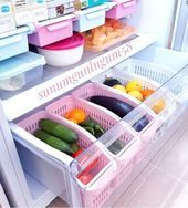 Do you want to have a properly organized kitchen? Here we are with Smart Fridge Organization Ideas That are worth a Million Dollar! Kitchen Cabinet Organization, Home Organization, Kitchen Cabinets, Organizing Ideas, Cabinet Ideas, Kitchen Shelves, Cupboards, Kitchen Countertops, Diy Kitchen Storage