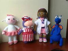 Resultado de imagem para doutora brinquedos em amigurumi