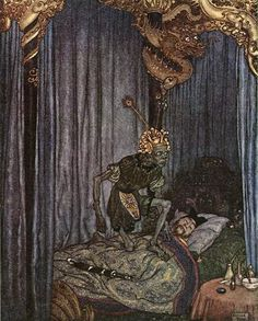 Death+Listened+to+the+Nightingale+-+The+Nightingale+-+Edmund+Dulac