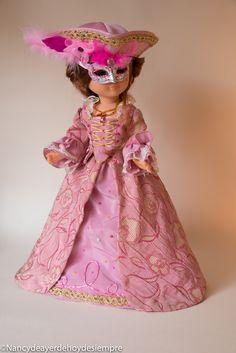 Nancy, carnaval en Venecia American Girl Doll Costumes, Nancy Doll, Barbie, Old Dolls, Girl Dolls, Doll Clothes, Vintage, Ideas, Fashion