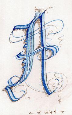 AB Calligraphy (2)   da SpedBug