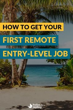 Finding and acquiring your first entry level remote job isn't always easy –and some websites just make finding reputable online jobs harder (and more costly) than it needs to be. \\ entry level work rom home job, entry level remote jobs, entry level jobs remote, entry level jobs from home, remote jobs no experience