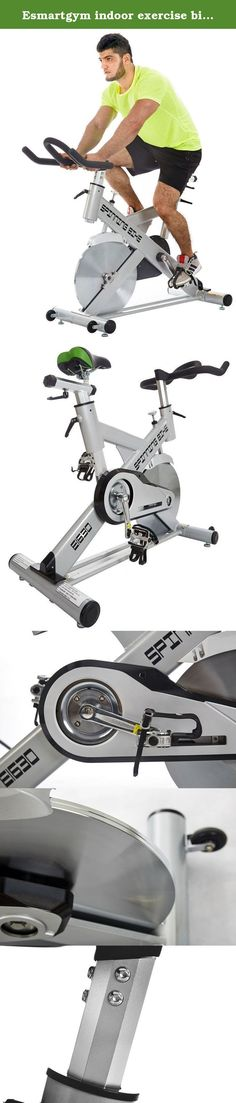 """Esmartgym indoor exercise bike with bluetooth and app. This is a luxury bike for home gym, or club. This is a smart bike with free bluetooth sensor and app. What does the app help you? 1. Monitoring your workout 2.Permanent history data 3.Downloading program 4.Custom program 5.Share to facebook 6.More motivation like games, street map will be added The Bluetooth technology elevates the value above and beyond similar cycles alone. The fitbill """"free"""" App allows you to monitor and track your..."""