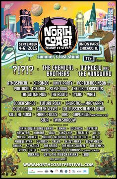 Phase One of the North Coast Music Festival #NCMF