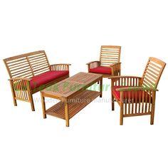 teak sofa set germany, from teak hardwood, made in indonesia. Mahogany Furniture, Teak Furniture, Outdoor Furniture Sets, Outdoor Decor, Teak Wood, Sofa Set, Hardwood, Germany, Home Decor